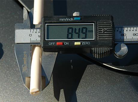 Керамическая двуканальная трубка МКР CIP, 9х2х2 мм, 1000 мм