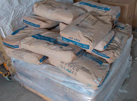 Огнеупорная смесь TRI-MOR MORFLO 160 25 кг